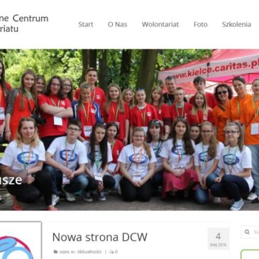Nowa strona DCW