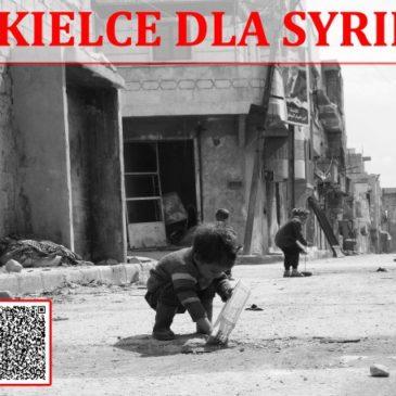Kielce dla Syrii. Zachęcamy do wsparcia akcji pomocy dzieciom