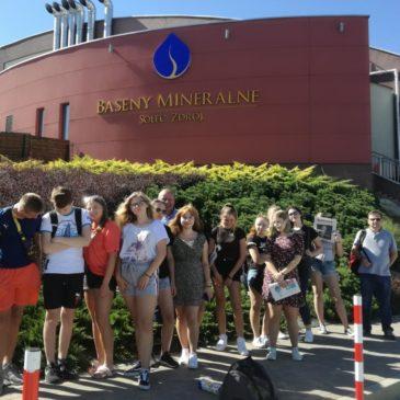 Młodzi wolontariusze Caritas z wizytą studyjną w gminie Solec- Zdrój