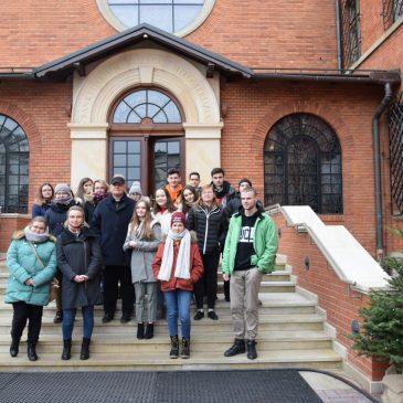 Wolontariusze z wizytą w Krakowie