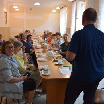 Spotkanie wolontariuszy seniorów