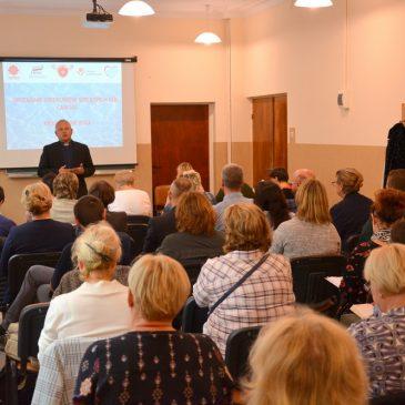 Spotkanie szkoleniowe opiekunów Szkolnych Kół Caritas